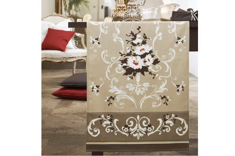 anne 39 s table rondine kissen exclusiver druck mit floralen motiven 50x50cm exklusive. Black Bedroom Furniture Sets. Home Design Ideas